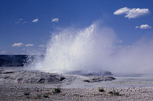 image of Fountain geyser