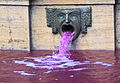 Fountain with pink water.jpg