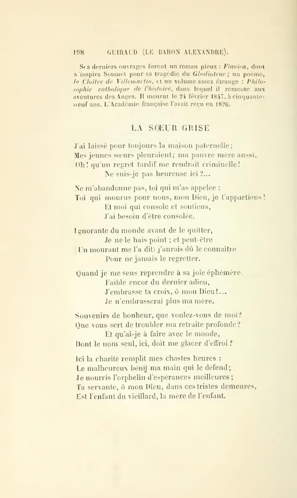 Pagefournier Souvenirs Poétiques De Lécole Romantique