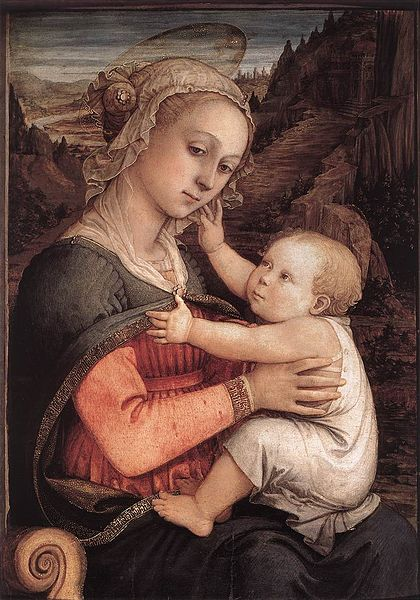 Vaizdas:Fra Filippo Lippi - Madonna and Child - WGA13306.jpg