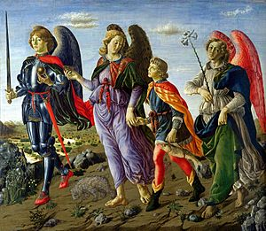 Three Archangels with Tobias