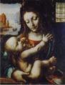 Francesco Napoletano, Vierge à l'Enfant.png