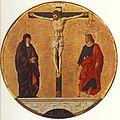 Francesco del Cossa - Griffoni Polyptych - The Crucifixion - WGA05388.jpg