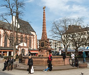 Frankfurt Liebfrauenberg Liebfrauenbrunnen.20130306.jpg