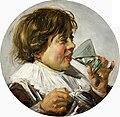Frans Hals - Brustbild eines lachenden Knaben mit Weinglas.jpg