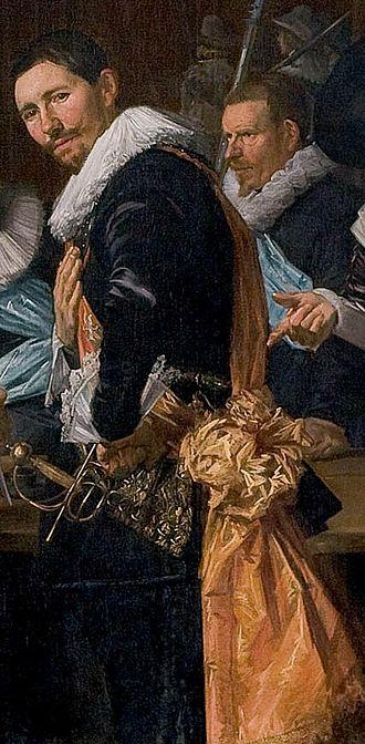 Andries van Hoorn - Andries van Hoorn wearing his captain's sash in 1633