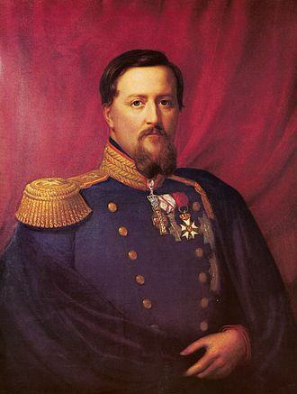 Frederick VII of Denmark - Portrait by August Schiøtt, 1848–63