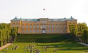 Frederiksberg Slot set fra plænen
