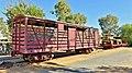 Freight rolling stock Alice Springs, 2015.JPG