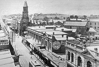 Fremantle Town Hall - Fremantle Town Hall High Street 1909