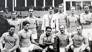 1920 Summer Olympics - France national football team.