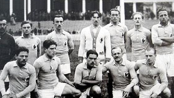 French national football team - Olympic games 1920