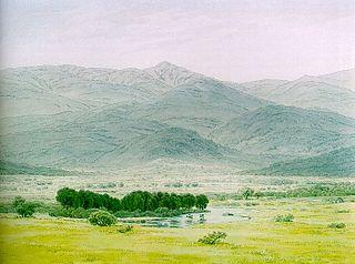 Landscape in the Riesengebirge