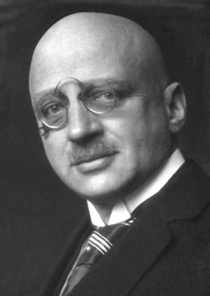 Haber process - Fritz Haber, 1918