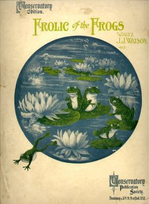 1902 in music - Frolic of the Frogs