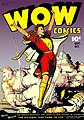 "Front cover, ""Wow Comics"" no. 38 (art by Jack Binder).jpg"
