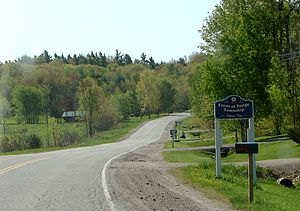 Front of Yonge - County Road 5