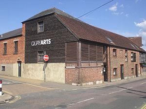 The Quay Arts - The front view of the Quay Arts Centre.