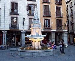 PROPUESTAS DE RULADA DE LA COMUNIDAD DE MADRID - DOMINGO 8 DE MARZO 250px-Fuente_de_Orfeo_%28Madrid%29_03