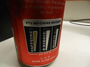Full Throttle (drink) - Full Throttles No-Choke Mixture