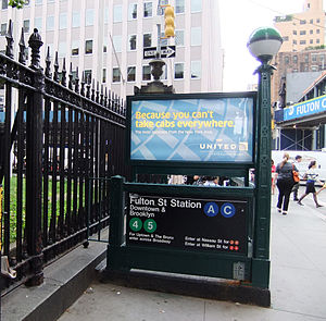 wiki Franklin Avenue%E%%Fulton Street (New York City Subway)