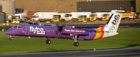 G-JECY - DH8D - Flybe