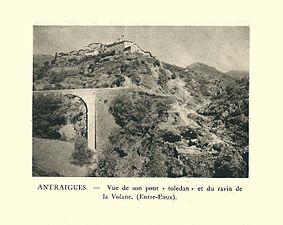 G.-L. Arlaud-recueil Vals Saint Jean-Antraigues, pont tolédan & ravin-01.jpg