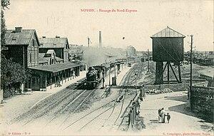 Nord Express - Image: G. Compiègne 6 NOYON Passage du Nord Express