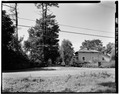 GATE AND GATE HOUSE, LOOKING WEST - Rose Hill, Woods Road, Tivoli, Dutchess County, NY HABS NY,14-TIV.V,1-1.tif