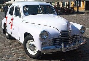 FSO Warszawa - 1951 Warszawa front
