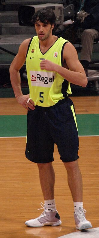 Gianluca Basile - Basile with FC Barcelona, in 2009.