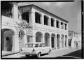 GENERAL VIEW OF FRONT (KING STREET) FACADE - Kongensgade 58 (House), 58 King Street, Christiansted, St. Croix, VI HABS VI,1-CHRIS,50-1.tif
