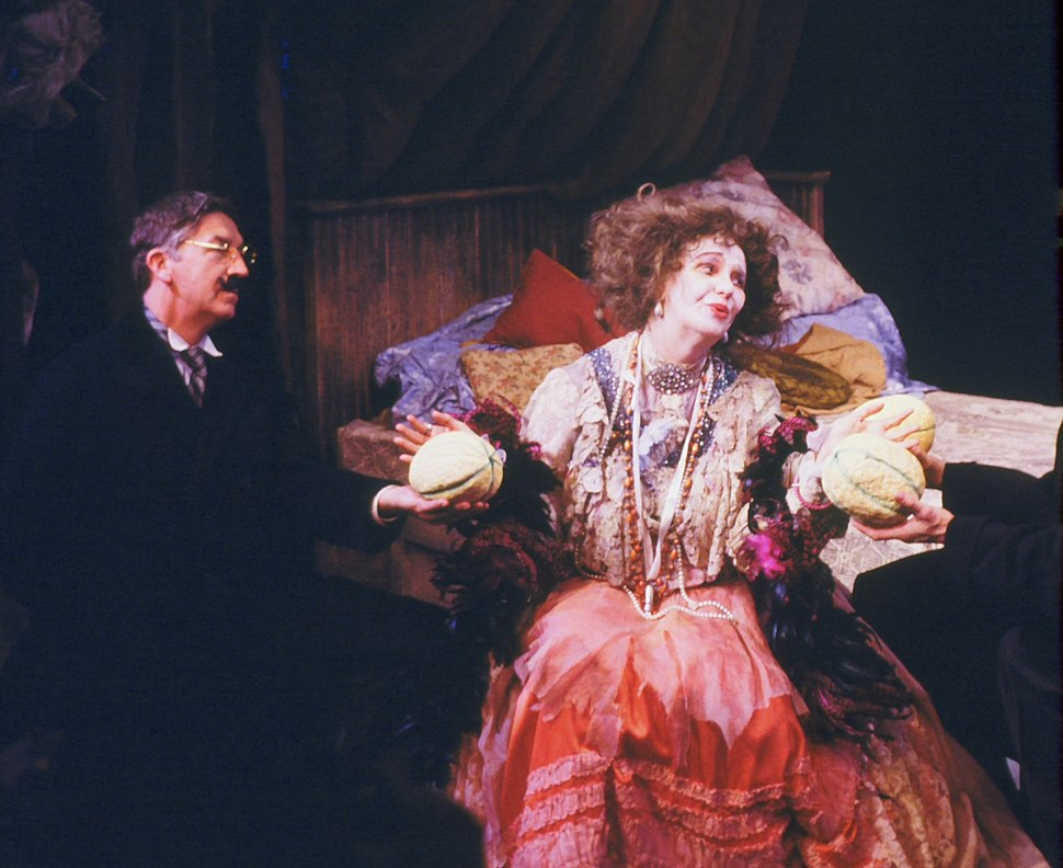 GERALDINE PAGE AND BRIAN CLARK IN THE MADWOMAN OF CHAILLOT