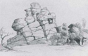 Georg Melchior Kraus - Image: G M Kraus Klusfelsen
