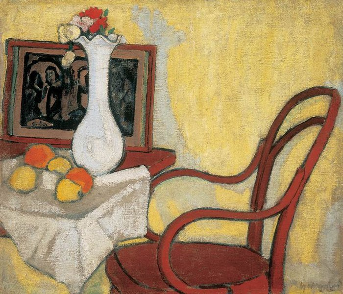 File:Galimberti, Sándor - Interior with Thonet-chair (ca 1908).jpg