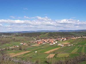 Landschaft im Westen der Provinz