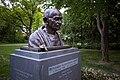 Gandhi bust Culemannstrasse Mitte Hannover Germany 02.jpg
