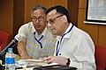 Ganga Singh Rautela and Pramod Kumar Jain - Opening Session - VMPME Workshop - Science City - Kolkata 2015-07-15 8480.JPG