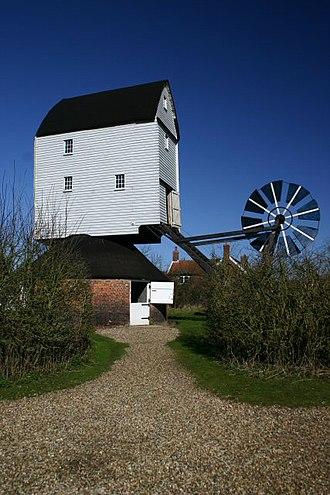 Garboldisham Windmill - Image: Garboldisham Mill