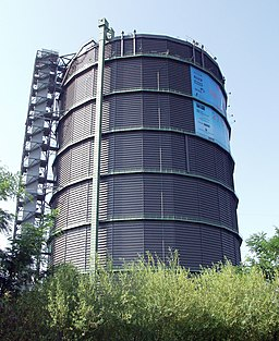Gasometer Oberhausen aussen