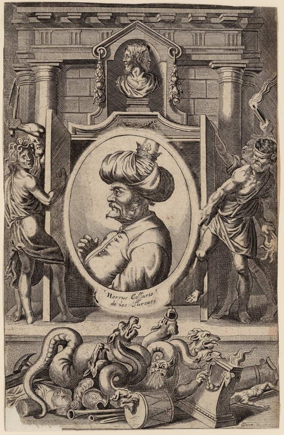 Gaspar bouttats-Retrato de Horruc