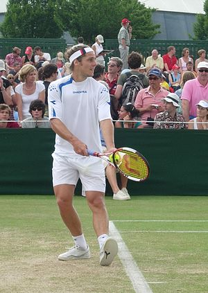 Gastón Gaudio - Gastón Gaudio at the 2006 Wimbledon Championships