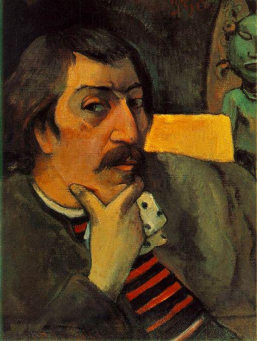 Gauguin Autoportrait à l'idole