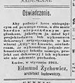 Gazeta Lwowska. 27 stycznia 1911. № 21. S. 7.jpg