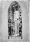 gebrandschilderd glas- david en nathan, naar foto in- harting, geschiedenis der kerkglazen in de st.janskerk te gouda - gouda - 20081693 - rce