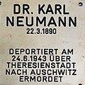 Gedenkstein für Dr. Karl Neumann.JPG