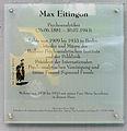 Gedenktafel Altensteinstr 26 (Lichf) Max Eitingon.jpg