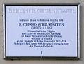 Gedenktafel Faradayweg 10 (Dahl) Richard Willstätter.JPG