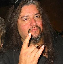 Description de l'image Gene Hoglan, Gods of Metal 2005, Italy.jpg.