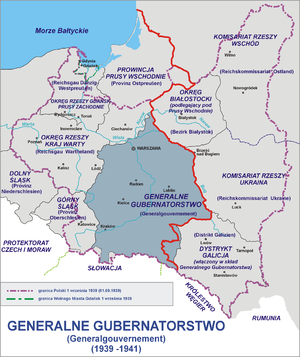 Commission for Polish Relief - Polish territories under occupation by the Soviet Union and Nazi Germany 1939-1941.